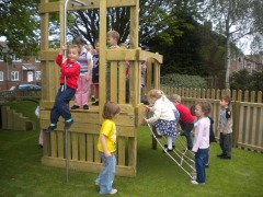 Nursery's Fantastic New Play Area