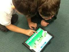 learning on ipads