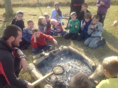 Forest School teaches teamwork