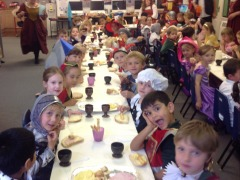 A Tudor feast for KS1