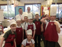 Mallory Court Chefs work with Year 6