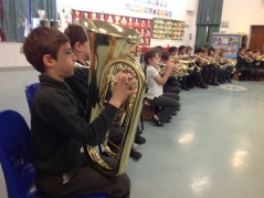 All children enjoy many music opportunities
