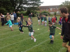 KS1 skill and challenge races