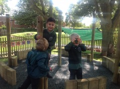 Reception outdoor learning thanks to PTA