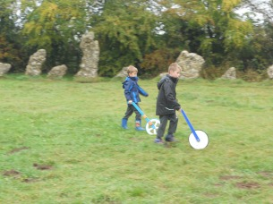 Measuring a Stone Age Circle